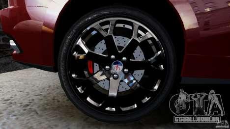 Maserati Gran Turismo 2008 Beta para GTA 4 vista direita