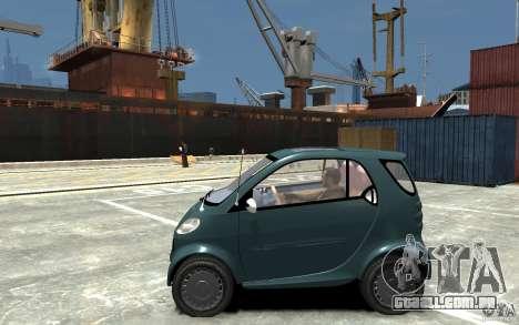 Smart For Two para GTA 4 esquerda vista