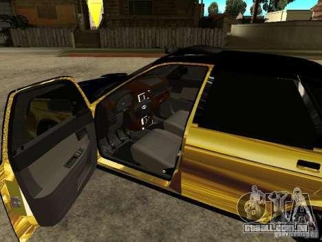 Lada 2170 Priora GOLD para GTA San Andreas vista direita