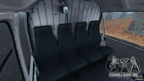 Eurocopter AS350 Ecureuil (Squirrel) para GTA 4 vista interior