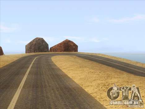 HQ Country Desert v1.3 para GTA San Andreas terceira tela