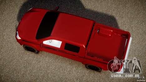 Toyota Hilux 2010 para GTA 4 vista direita