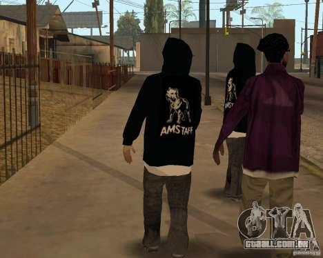 Novo traficante de drogas para GTA San Andreas segunda tela