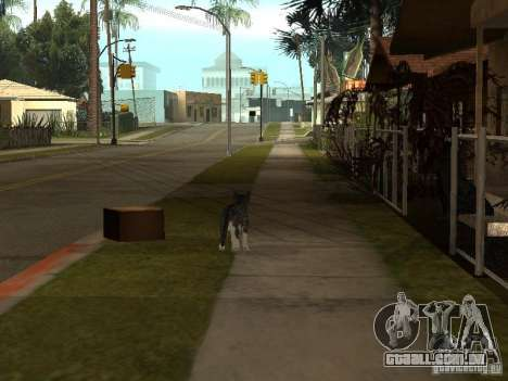 Animais para GTA San Andreas segunda tela