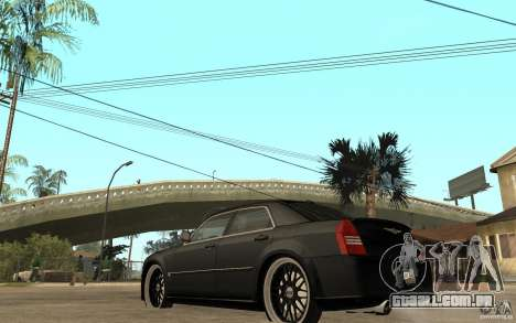 Chrysler 300C DUB para GTA San Andreas traseira esquerda vista