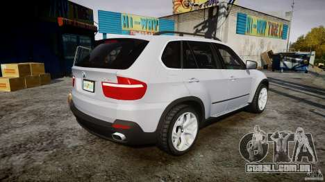 BMW X5 Experience Version 2009 Wheels 214 para GTA 4 vista superior