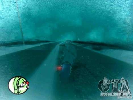 Queda de neve para GTA San Andreas segunda tela