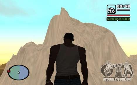 Mountain map para GTA San Andreas quinto tela