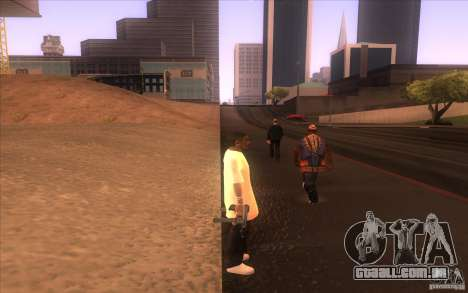 Nova pele para GTA San Andreas terceira tela