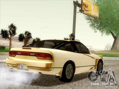 Nissan 240SX S13 - Stock para o motor de GTA San Andreas