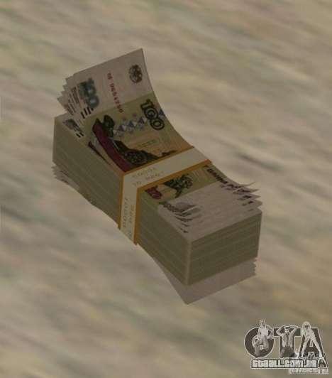 Russian-money para GTA San Andreas