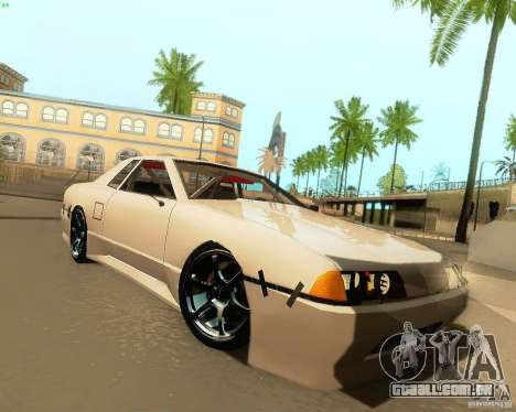 Elegy Drift Korch para GTA San Andreas esquerda vista