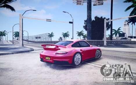 Porsche 977 GT2 para GTA 4 esquerda vista