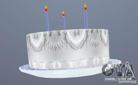 Happy Birthday Grenades para GTA San Andreas segunda tela