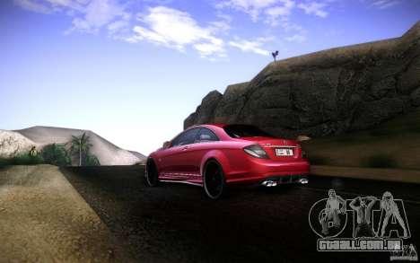 Mercedes Benz CL65 AMG para GTA San Andreas vista direita