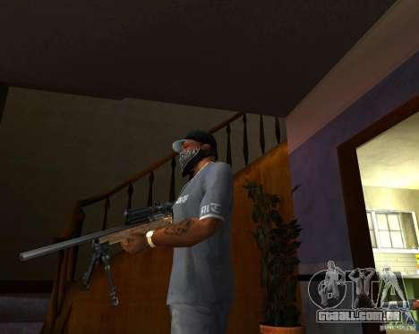 O Rifle M24 para GTA San Andreas segunda tela