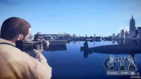 Nova M4 para GTA 4 segundo screenshot
