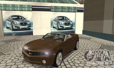 Chevrolet Camaro Concept 2007 para GTA San Andreas esquerda vista