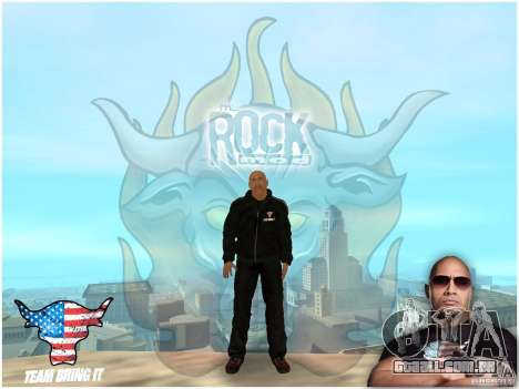 Dwayne The Rock Johnson para GTA San Andreas