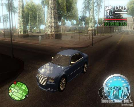MadDriver s ENB v.3.1 para GTA San Andreas por diante tela