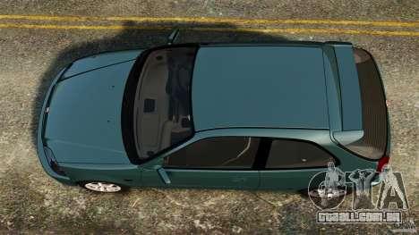 Honda Civic Type R (EK9) para GTA 4 vista direita