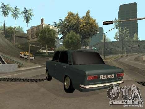 VAZ 21011 para GTA San Andreas vista traseira