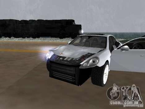 Porsche Panamera Turbo Tunable para GTA San Andreas vista interior