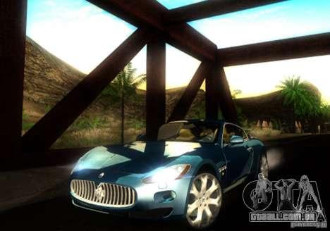 Maserati Gran Turismo para GTA San Andreas esquerda vista