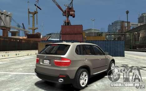 BMW X5 2009 para GTA 4 vista direita