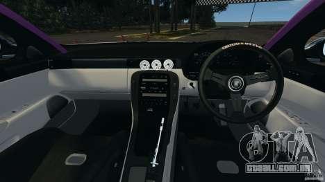Toyota Soarer Drift para GTA 4 vista de volta