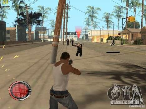 Adição para o GTA IV HUD para GTA San Andreas oitavo tela