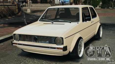 Volkswagen Golf Mk1 Stance para GTA 4