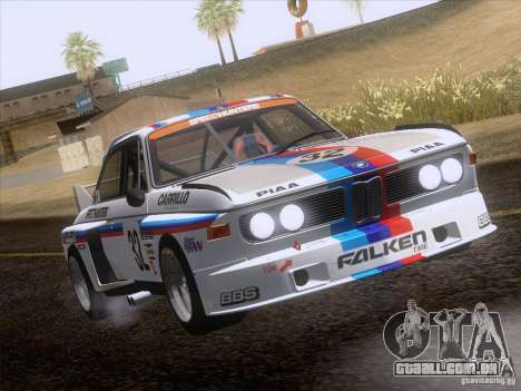BMW CSL GR4 para GTA San Andreas vista interior