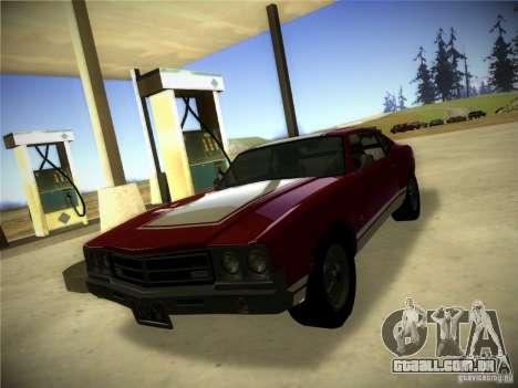 IG ENBSeries para GTA San Andreas por diante tela