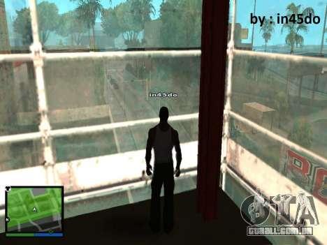 GTA V Interface for Samp para GTA San Andreas segunda tela