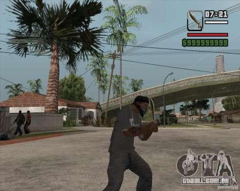 Steep Knife para GTA San Andreas segunda tela