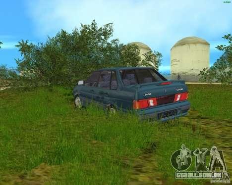 Lada 2115 para GTA Vice City deixou vista