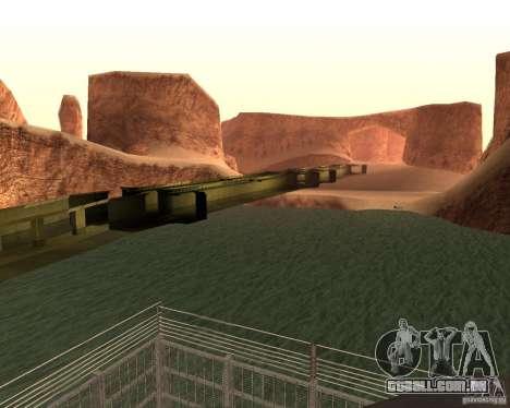 Base do dragão para GTA San Andreas terceira tela