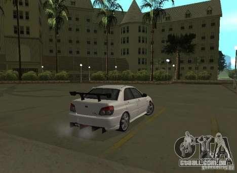 Subaru Impreza WRX STI-Street Racing para as rodas de GTA San Andreas