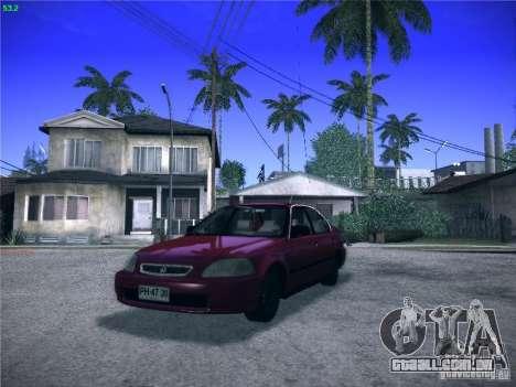 Honda Civic Sedan 1997 para GTA San Andreas