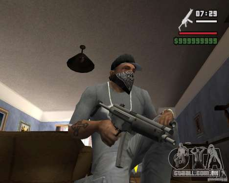Mp5HD para GTA San Andreas
