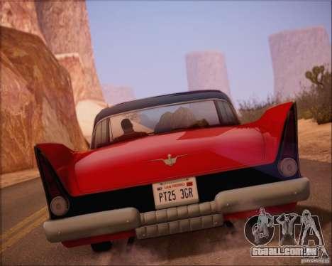 SA_NGGE ENBSeries v. 1.2 versão jogável para GTA San Andreas quinto tela