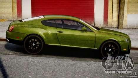 Bentley Continental SS 2010 Suitcase Croco [EPM] para GTA 4 vista interior