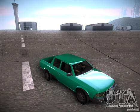 AZLK 2335-21 para GTA San Andreas traseira esquerda vista
