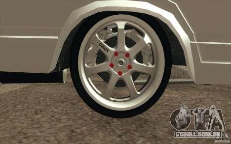 Drift Vaz Lada 2107 para GTA San Andreas interior