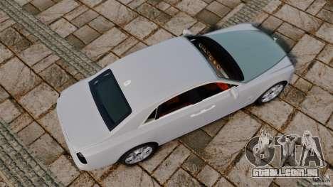 Rolls-Royce Ghost 2012 para GTA 4 vista direita