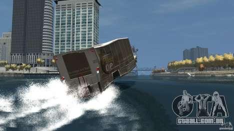 Benson boat para GTA 4 vista inferior