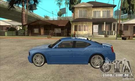 Dodge Charger R/T 2006 para GTA San Andreas esquerda vista