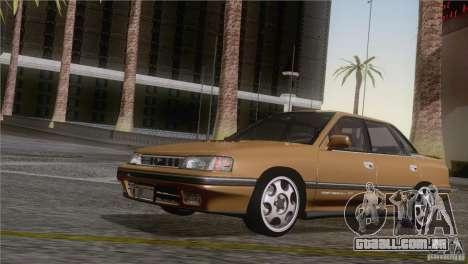 Subaru Legacy RS para GTA San Andreas traseira esquerda vista