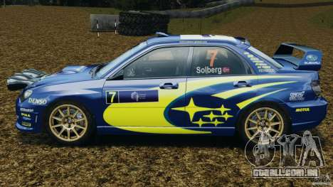 Subaru Impreza WRX STI N12 para GTA 4 esquerda vista